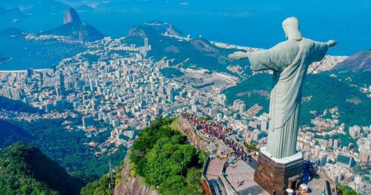 Brazil, the biggest country in South America